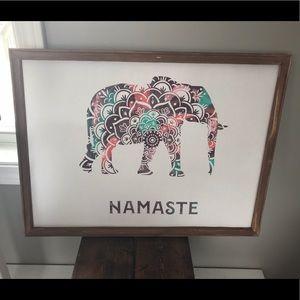 Namaste and Lotus